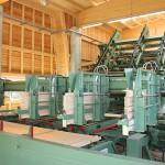 Maschine zur Lattenlegung und Paketierung