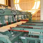 Maschine zur Paketierung von Schnittholz